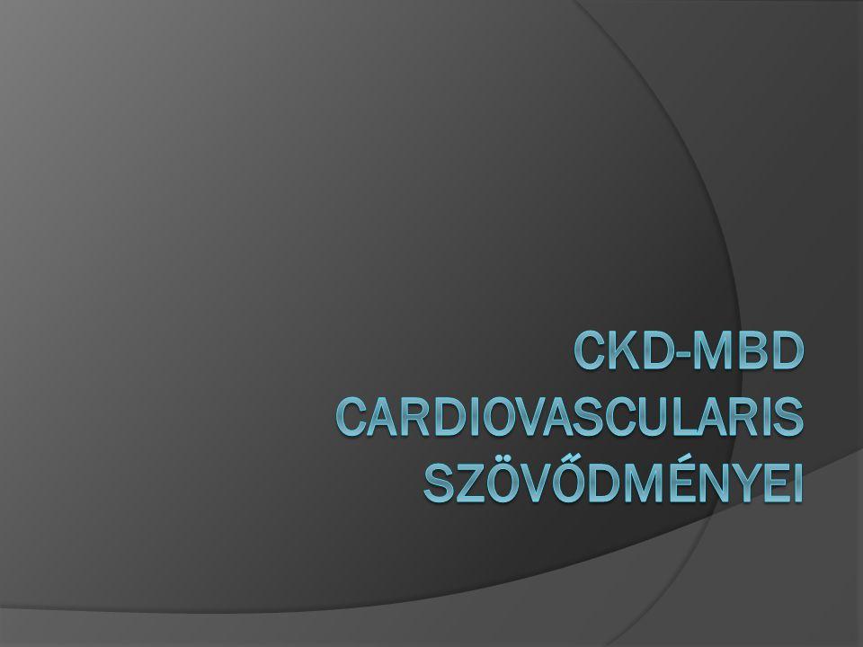CKD-MBD cardiovascularis szövődményei