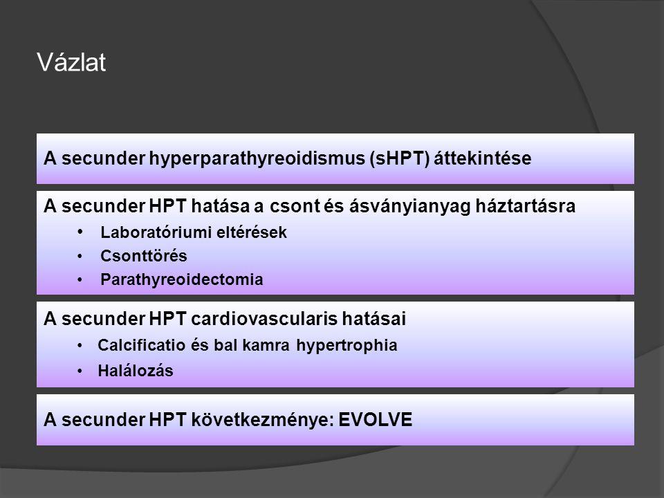 Vázlat A secunder hyperparathyreoidismus (sHPT) áttekintése