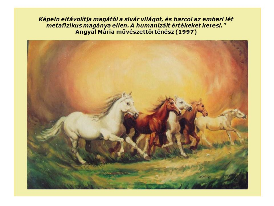 Angyal Mária művészettörténész (1997)