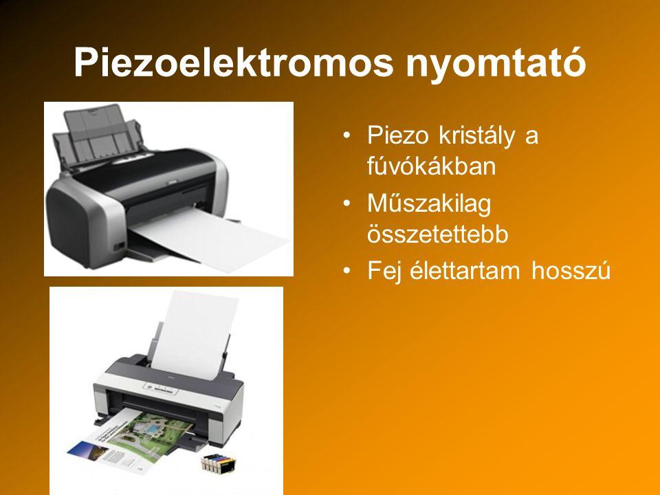 Piezoelektromos nyomtató