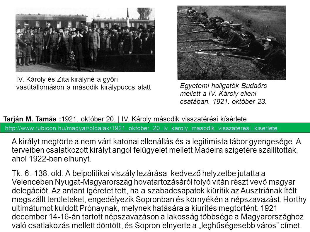 Múlt-kor/MTI-Panoráma - Vladár Tamás, Sajtóadatbank): IV