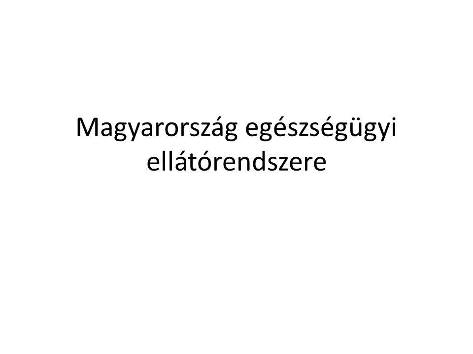 Magyarország egészségügyi ellátórendszere
