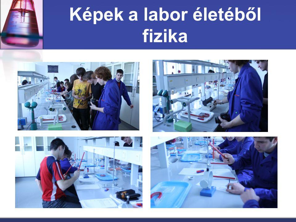 Képek a labor életéből fizika