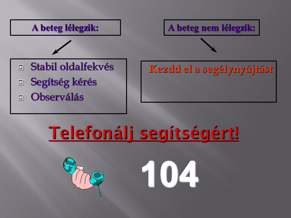 Telefonálj segítségért!