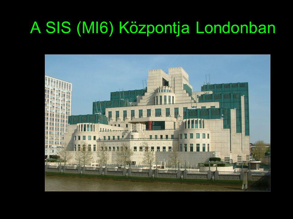 A SIS (MI6) Központja Londonban
