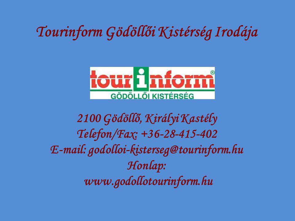 Tourinform Gödöllői Kistérség Irodája