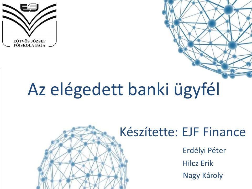 Az elégedett banki ügyfél