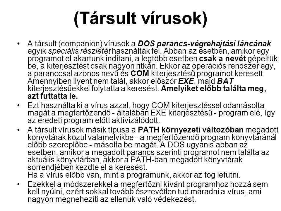 (Társult vírusok)