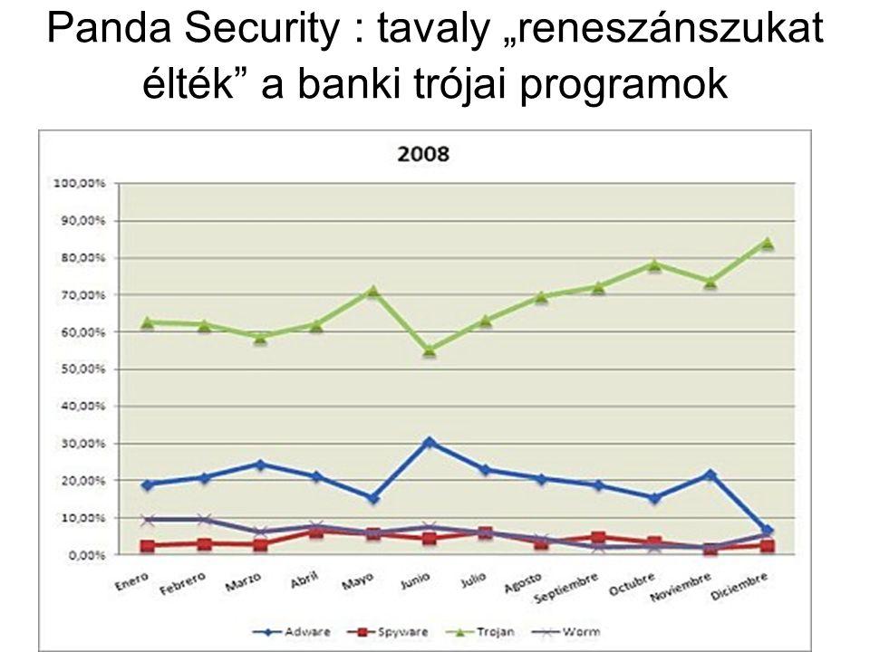 """Panda Security : tavaly """"reneszánszukat élték a banki trójai programok"""
