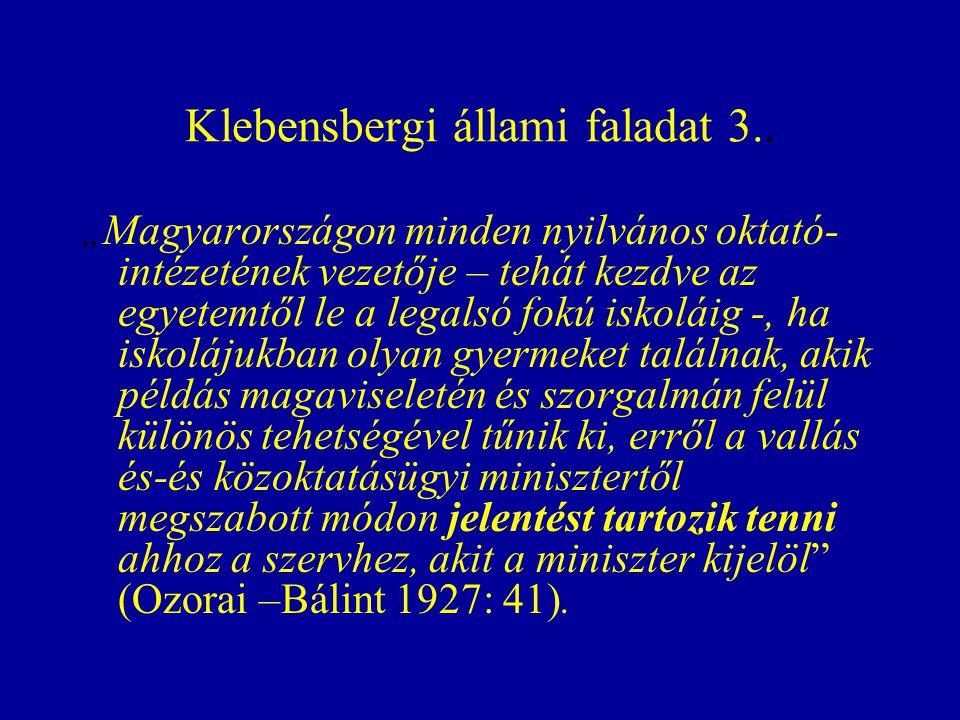 Klebensbergi állami faladat 3..