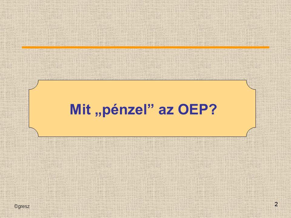 """Mit """"pénzel az OEP 2 2"""