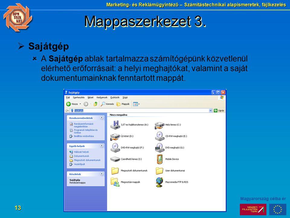 Mappaszerkezet 3. Sajátgép