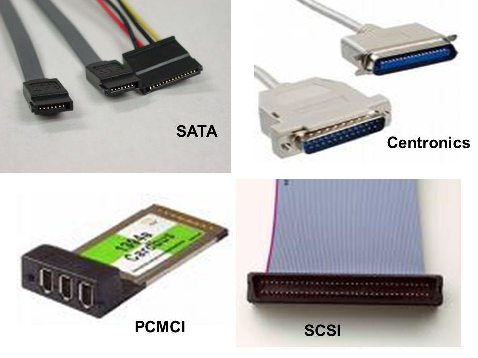 SATA Centronics PCMCI SCSI
