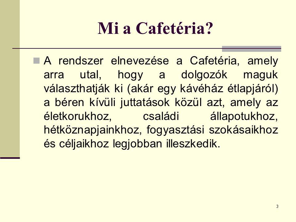 Mi a Cafetéria