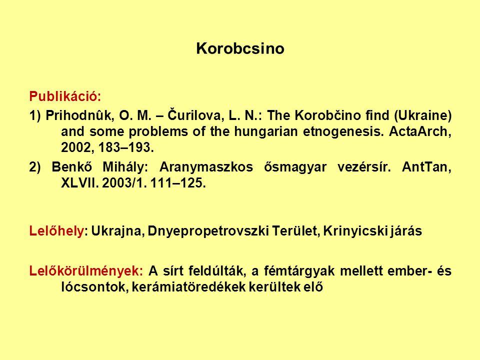Korobcsino Publikáció: