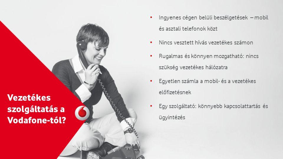 Vezetékes szolgáltatás a Vodafone-tól