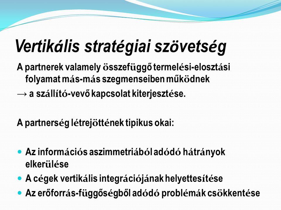 Vertikális stratégiai szövetség