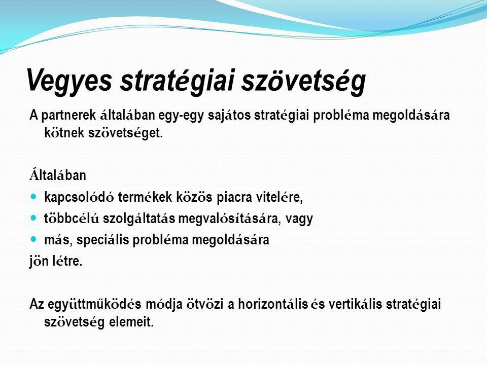Vegyes stratégiai szövetség
