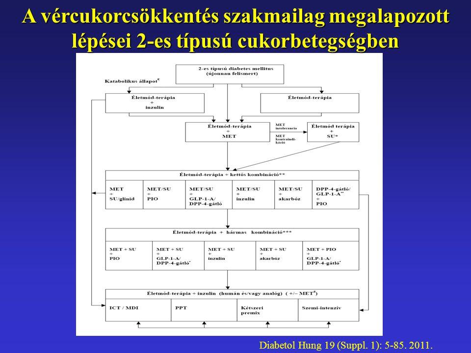 A vércukorcsökkentés szakmailag megalapozott lépései 2-es típusú cukorbetegségben