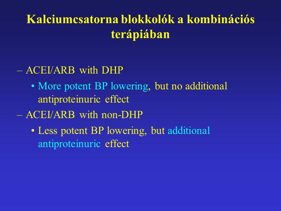 Kalciumcsatorna blokkolók a kombinációs terápiában