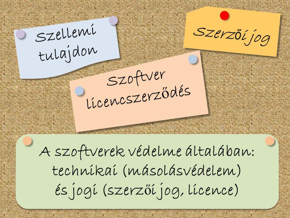 Szoftver licencszerződés
