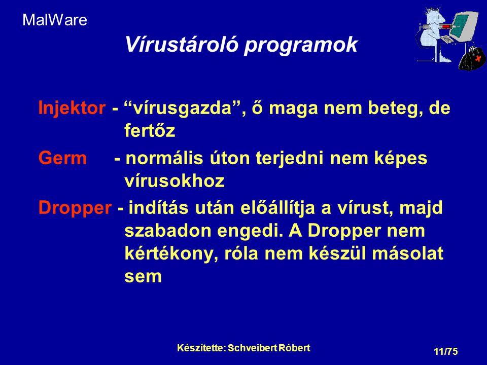MalWare Vírusgenerátorok