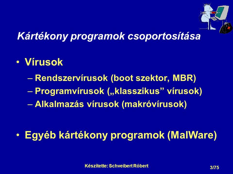 Egyéb kártékony programok - MalWare -