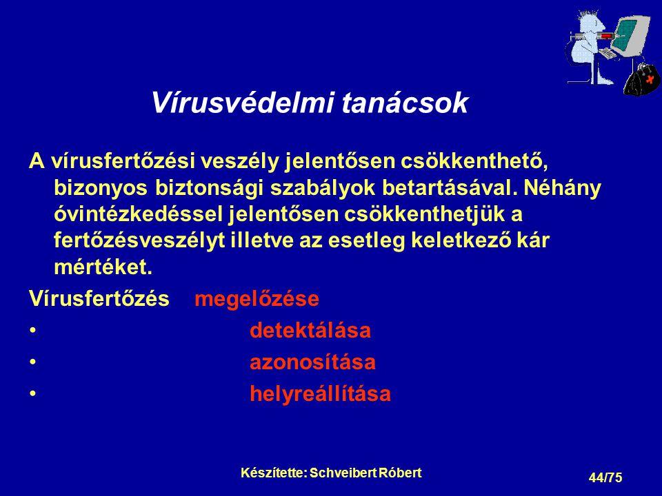 Vírusfertőzés megelőzése