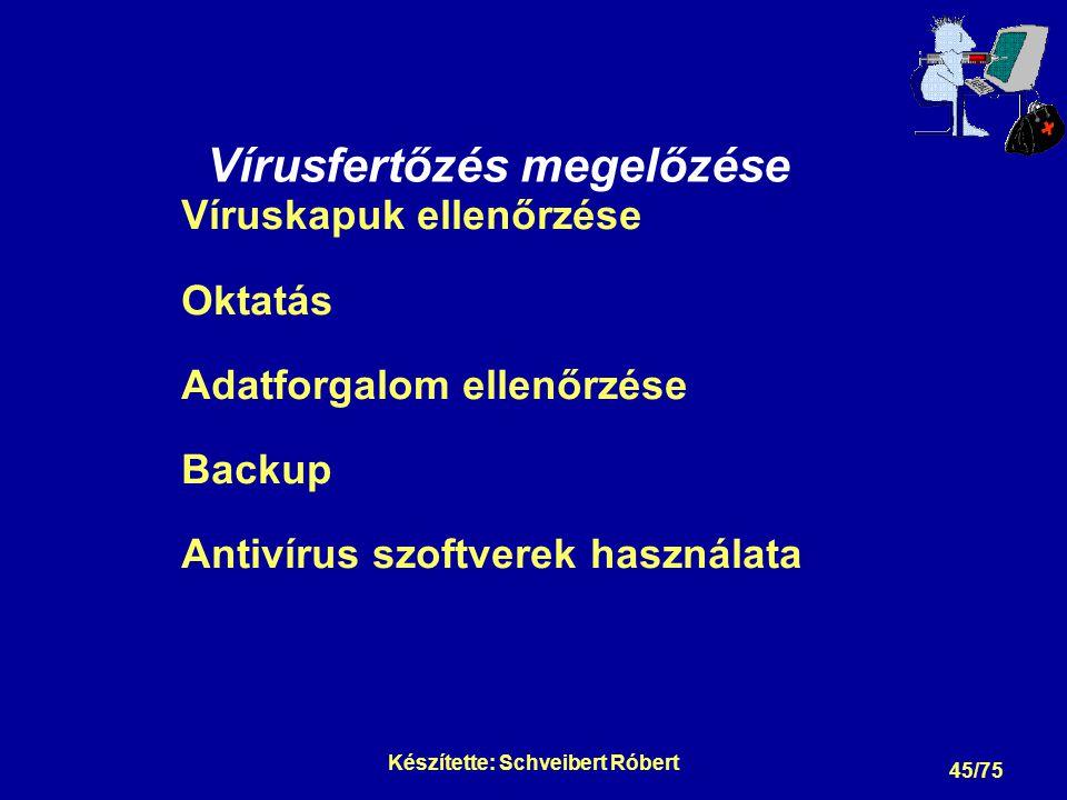 Vírusfertőzés megelőzése: Víruskapuk