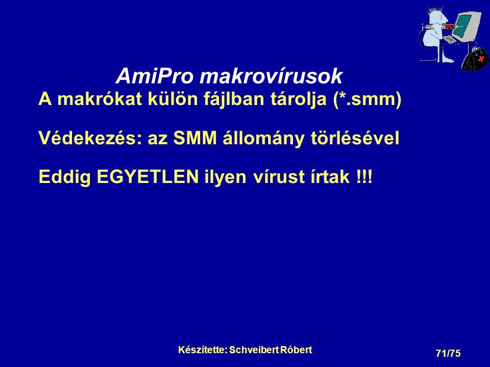 Makróvírusok megelőzése