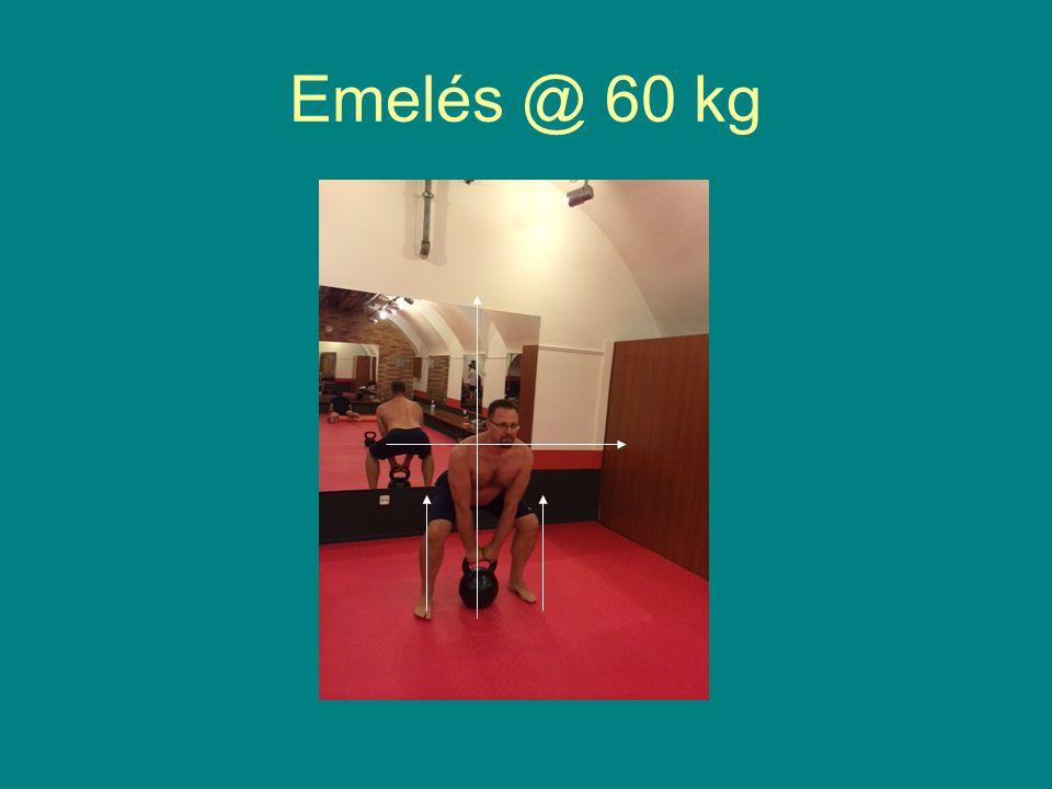 Emelés @ 60 kg