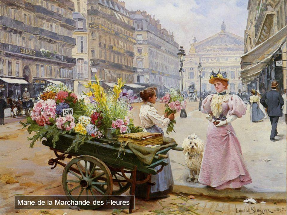 Marie de la Marchande des Fleures