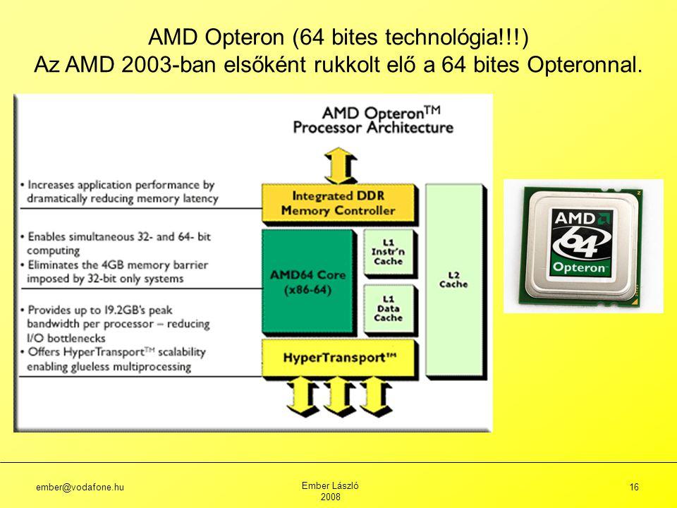 AMD Opteron (64 bites technológia!!!)