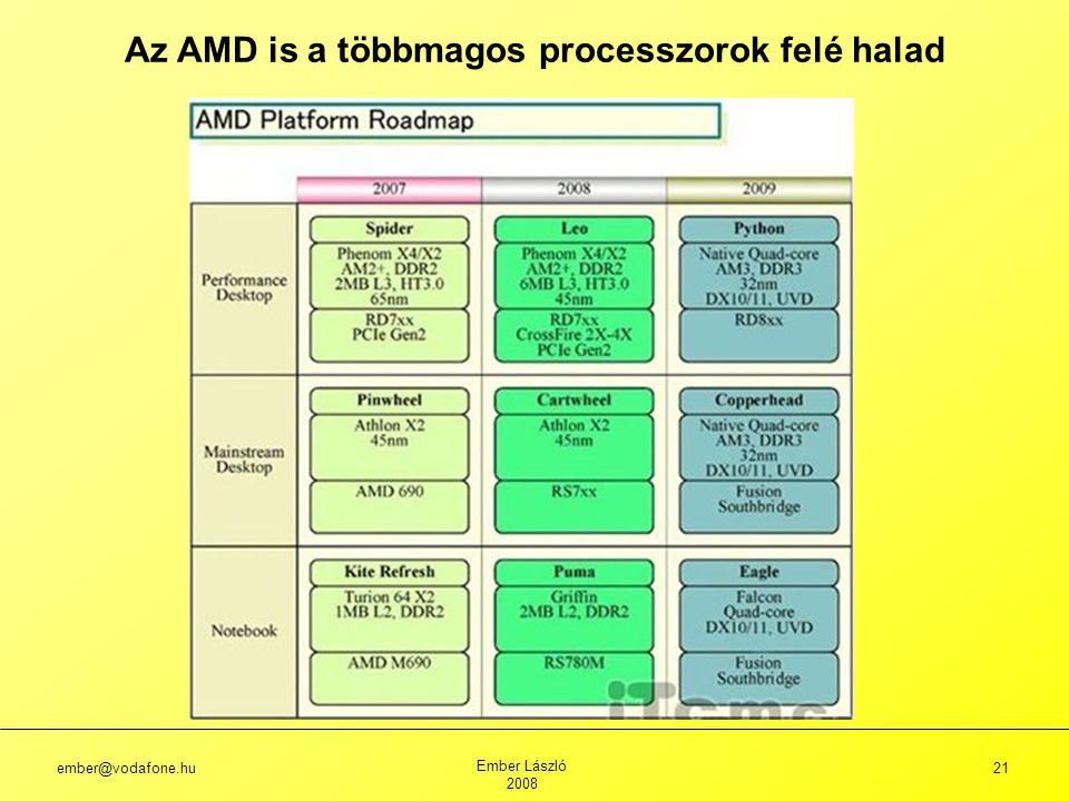 Az AMD is a többmagos processzorok felé halad