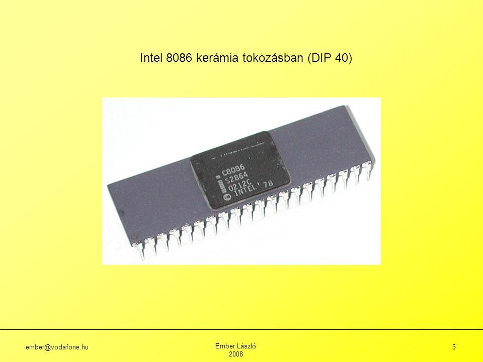 Intel 8086 kerámia tokozásban (DIP 40)