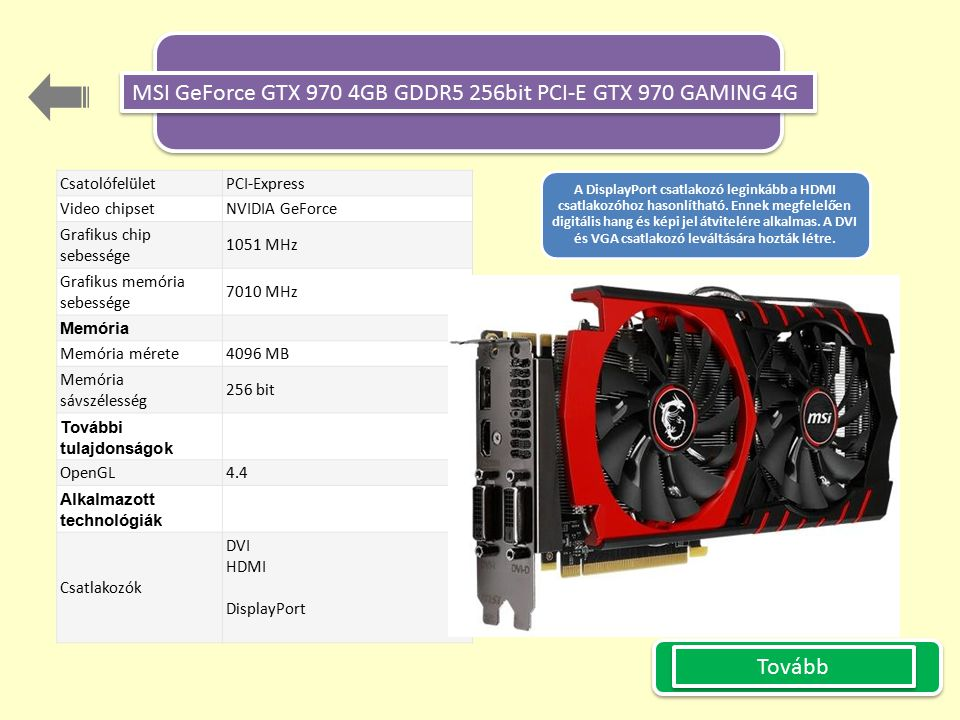 MSI GeForce GTX 970 4GB GDDR5 256bit PCI-E GTX 970 GAMING 4G