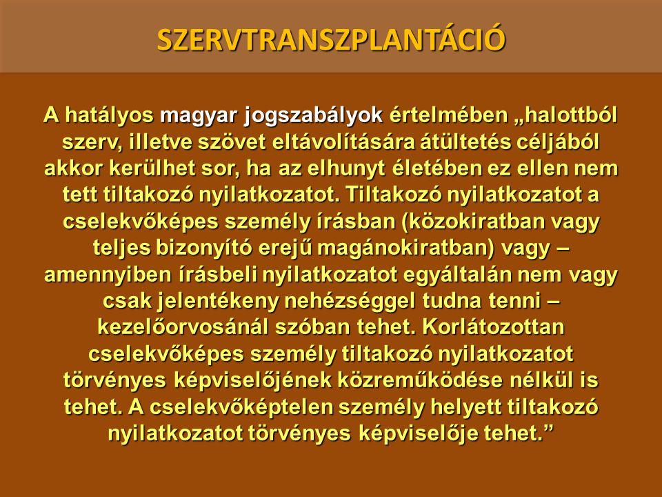 SZERVTRANSZPLANTÁCIÓ