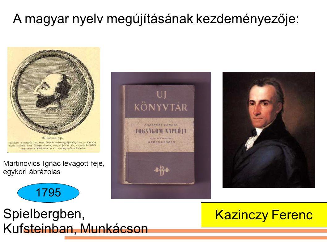 A magyar nyelv megújításának kezdeményezője: