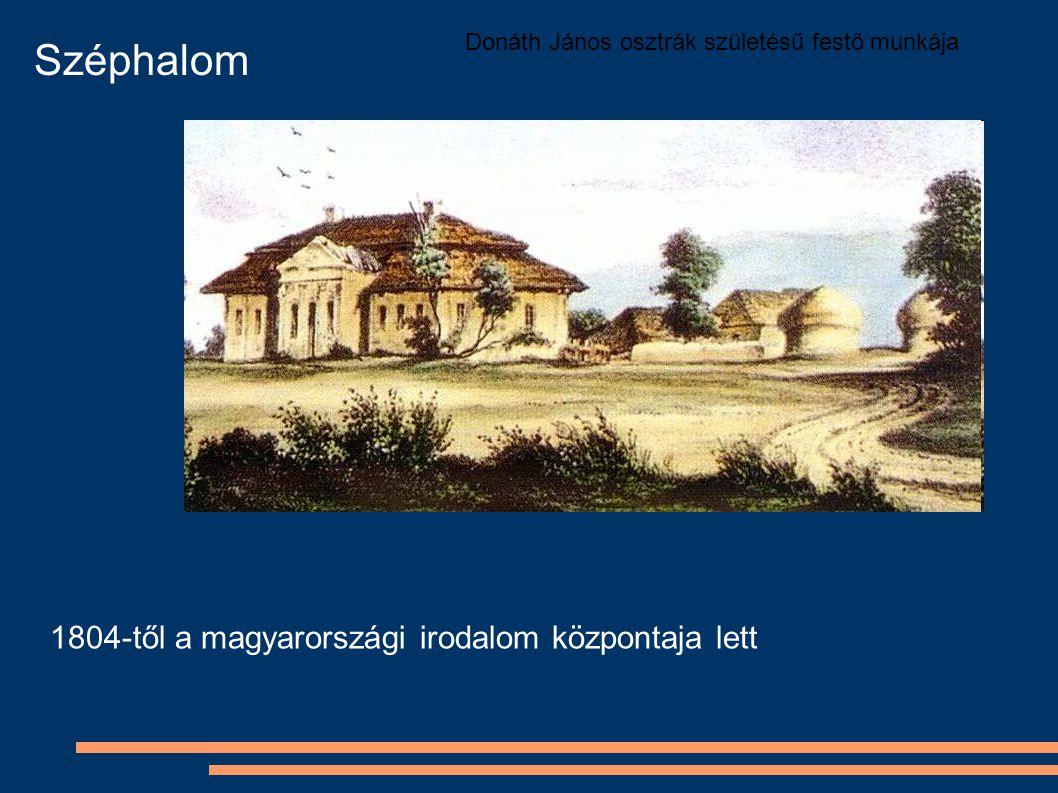 Széphalom 1804-től a magyarországi irodalom központaja lett