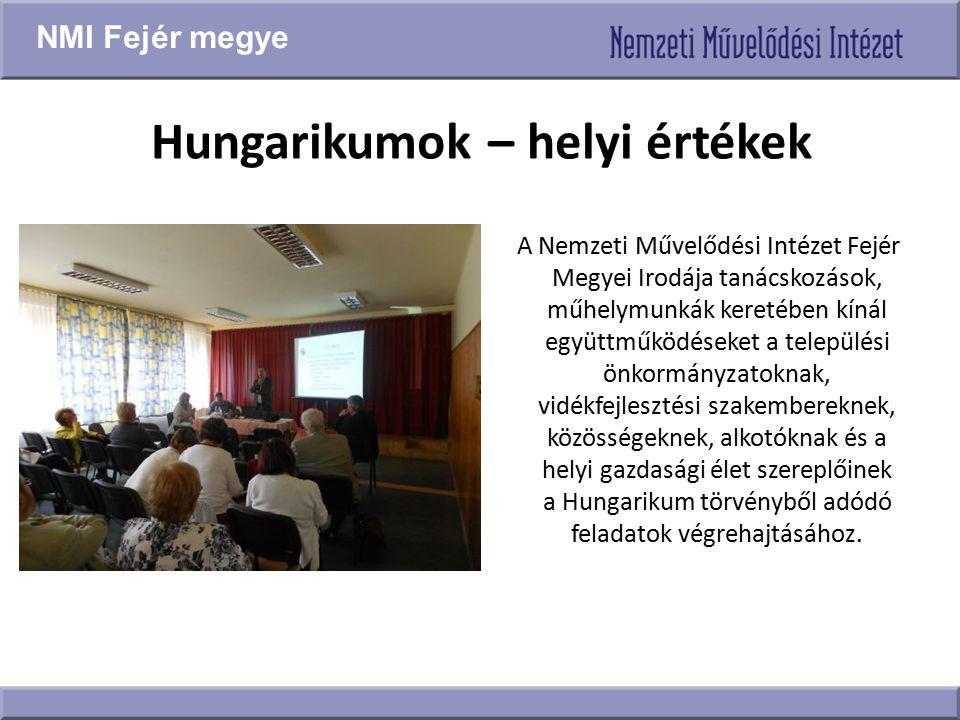 Hungarikumok – helyi értékek