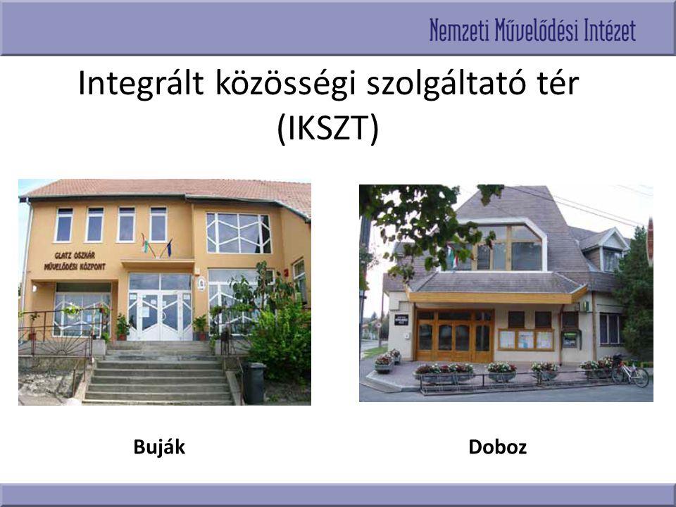 Integrált közösségi szolgáltató tér (IKSZT)