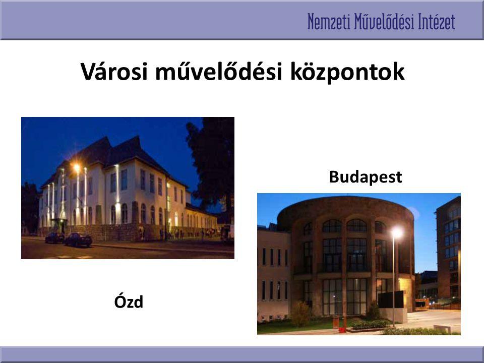 Városi művelődési központok