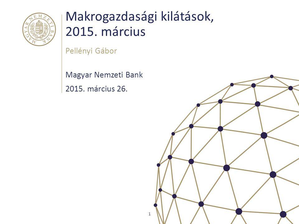 Makrogazdasági kilátások, 2015. március
