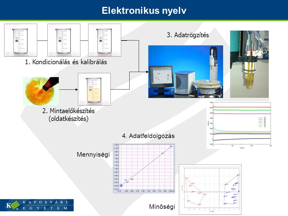 Elektronikus nyelv 3. Adatrögzítés 1. Kondicionálás és kalibrálás