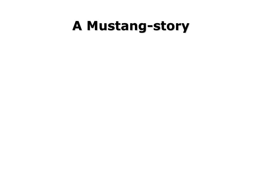 A Mustang-story