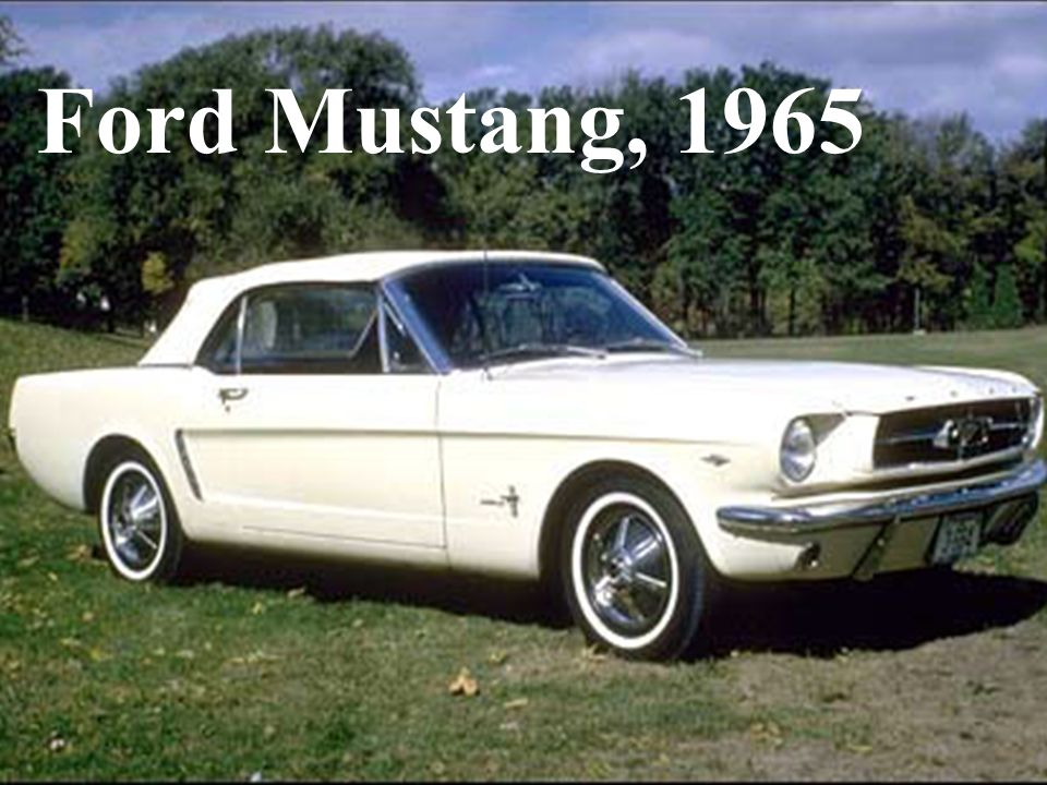 Ford Mustang, 1965