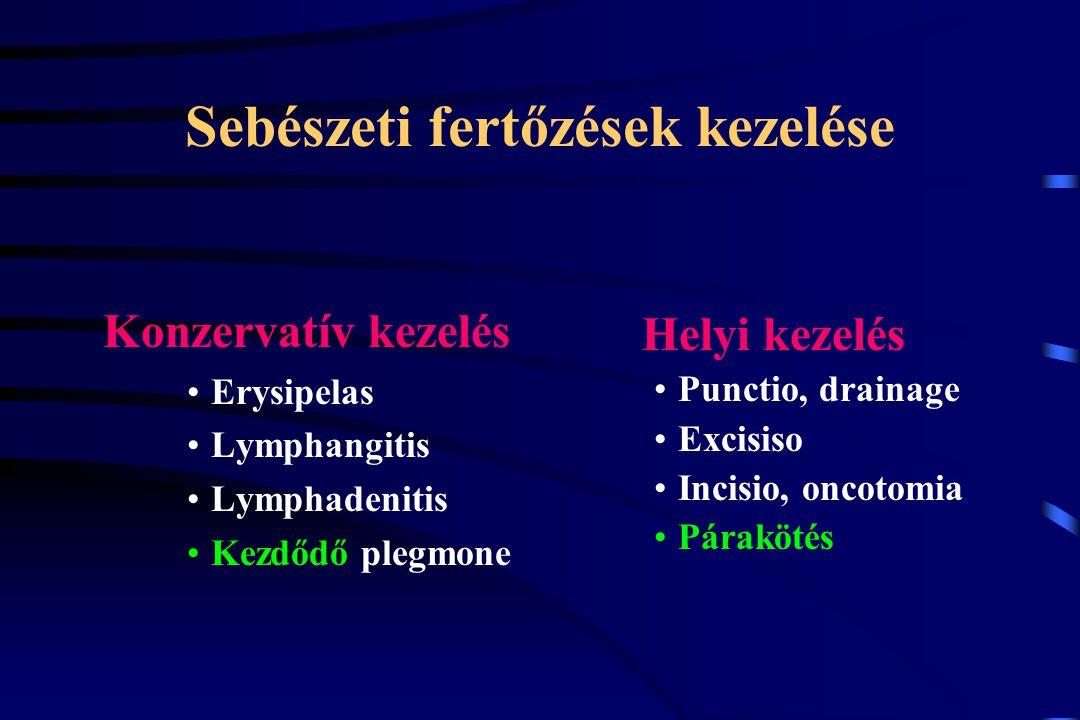 Sebészeti fertőzések kezelése