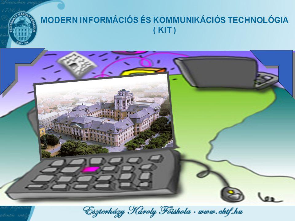 MODERN INFORMÁCIÓS ÉS KOMMUNIKÁCIÓS TECHNOLÓGIA