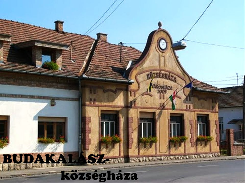 BUDAKALÁSZ- községháza