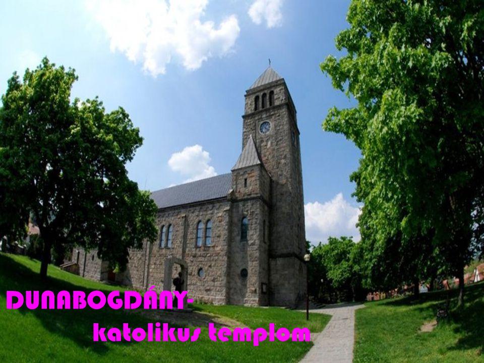 DUNABOGDÁNY- katolikus templom